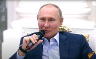 Путин пошутил про еще один дворец - видео