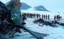 Крушение военного вертолета в Турции