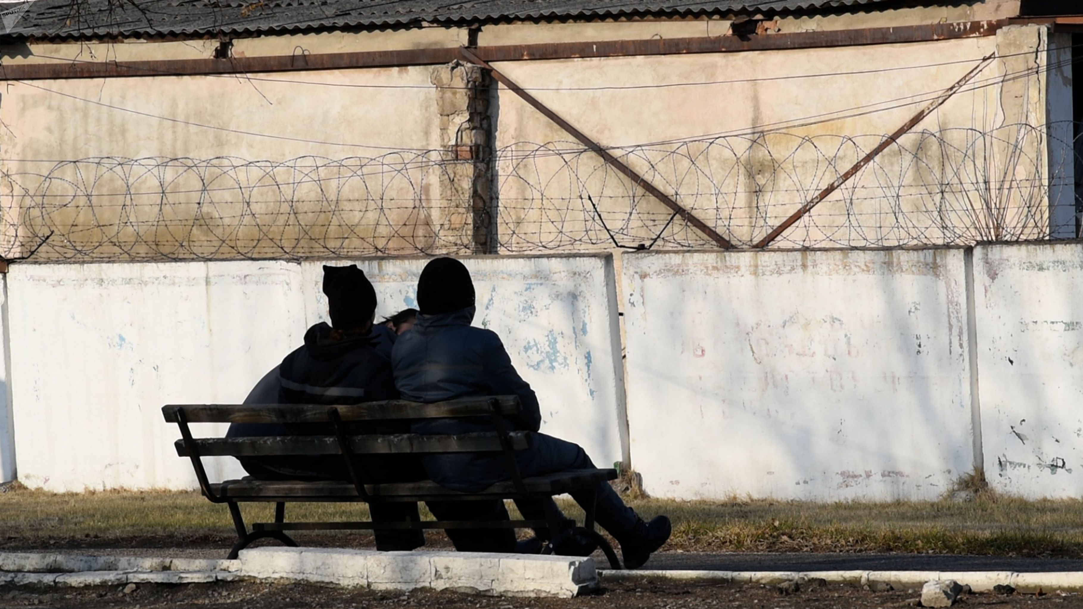 Заключенные женской колонии ЛА 155/4 в поселке Жаугашты Алматинской области
