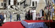 Папа Римский Франциск в Мосуле (Ирак)