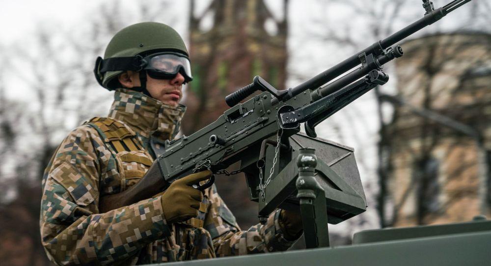 Военнослужащий Латвии