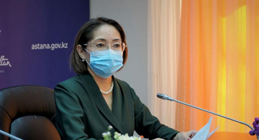 Главный государственный санитарный врач города Сархат Бейсенова