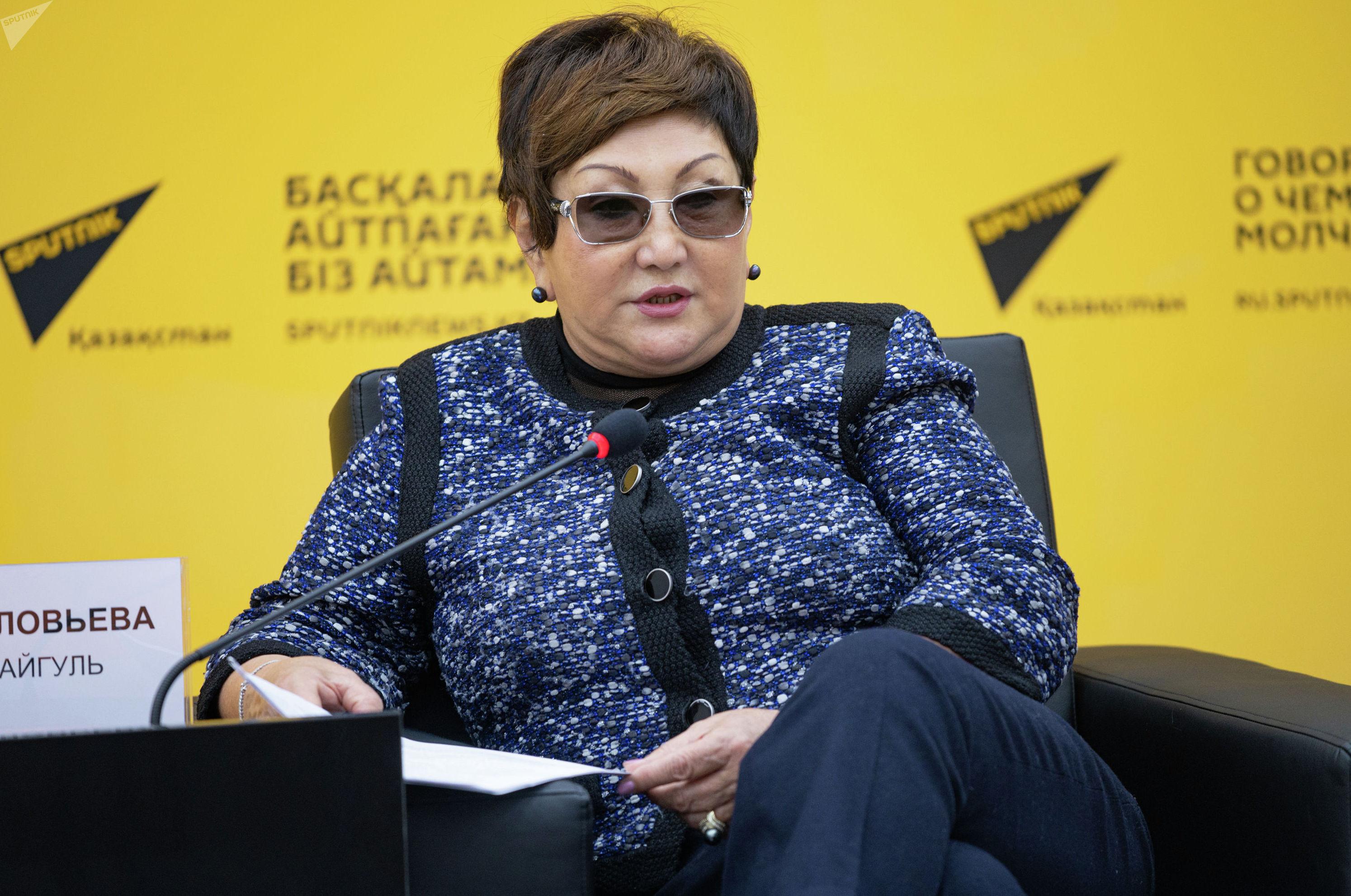 Айгуль Соловьева - председатель правления ОЮЛ Ассоциации экологических организаций Казахстана