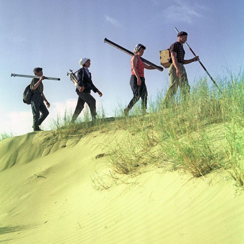 Геологи в экспедиции