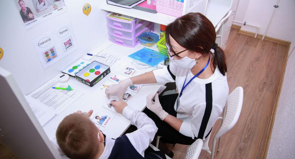 Кабинет инклюзии для детей-аутистов