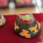 Еще один традиционный инструмент - тайтуяк (копытца). Их ударял друг об друга, получая звук топота копыт