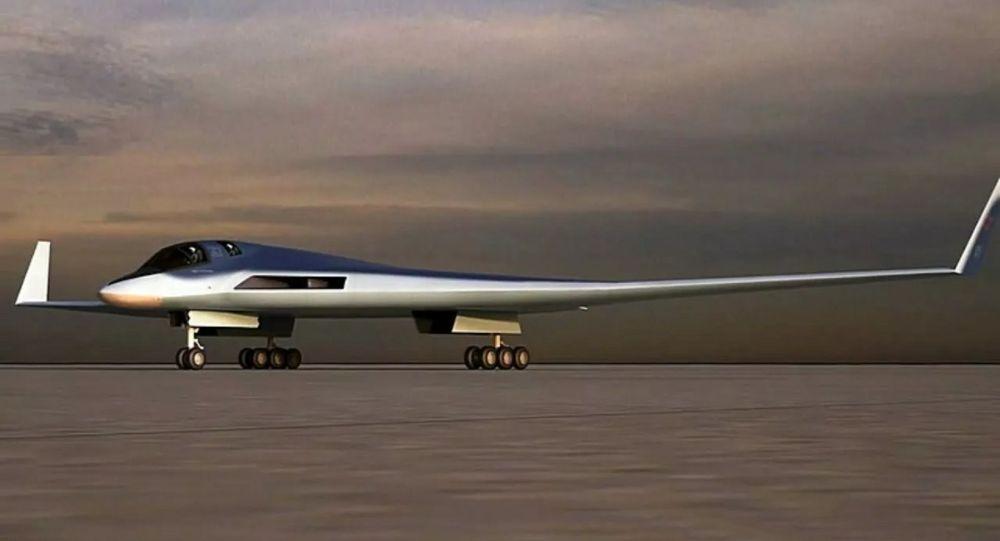 Эскиз перспективного авиационного комплекса дальней авиации (ПАК ДА)