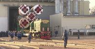 На космодроме Байконур началась подготовка к праздничному старту - видео