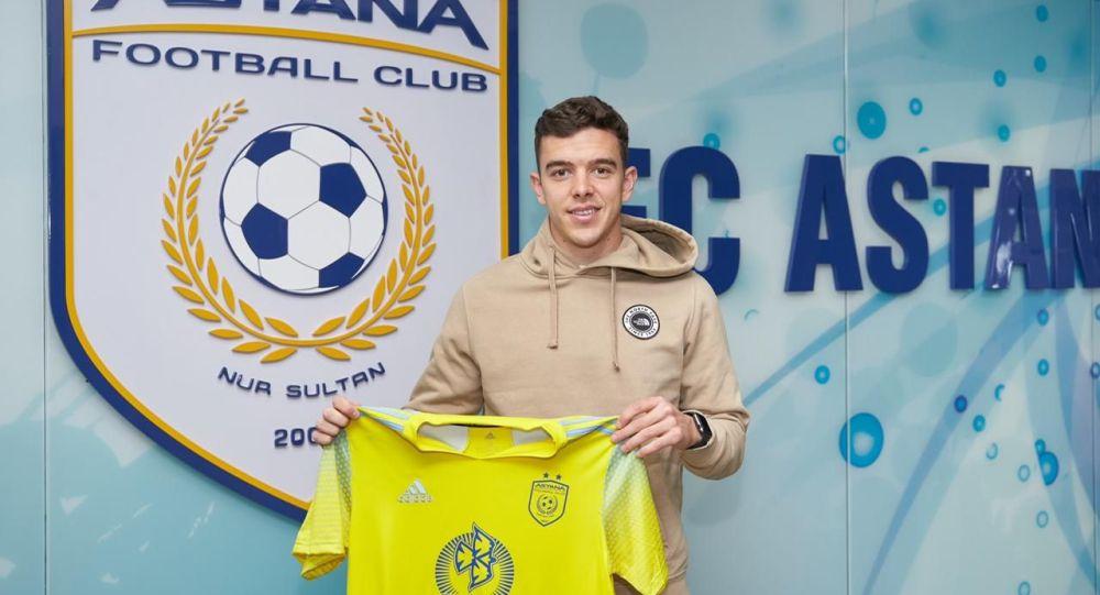Контракт с ФК Астана подписал защитник Энрике Лопез Фернандез, более известный, как Кадете