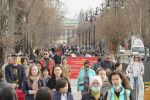 Весна в Алматы
