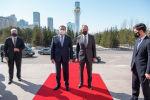 Министр иностранных дел Казахстана Мухтар Тлеуберди встретился с российским коллегой Сергеем Лавровым