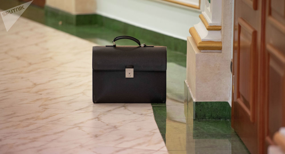 Портфель чиновника, архивное фото