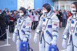 Как провожают космонавтов на Байконуре