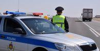 Полиция Казахстана перекрыла трассу
