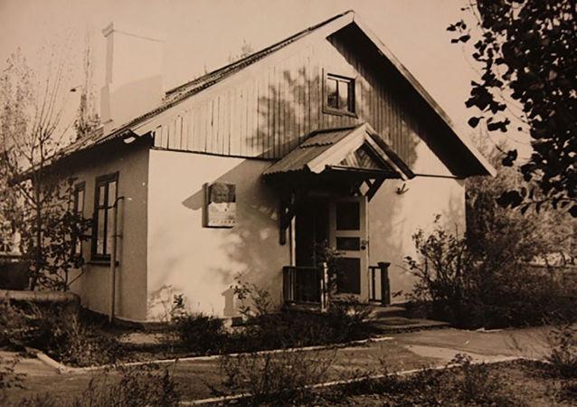 Дом на Байконуре, в котором перед стартом ночевал Гагарин