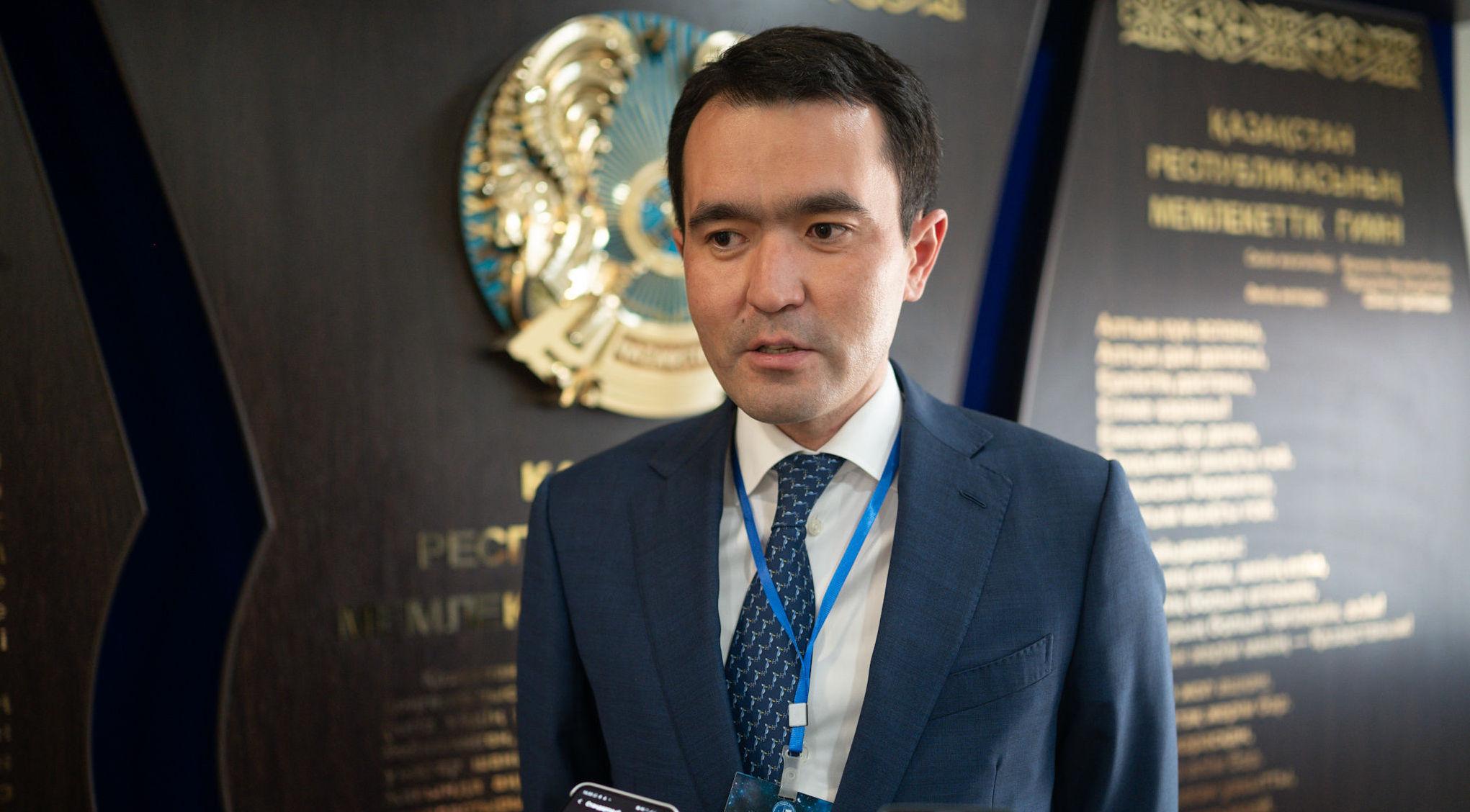 Председатель правления национальной компании Kazakh Tourism Ержан Еркинбаев