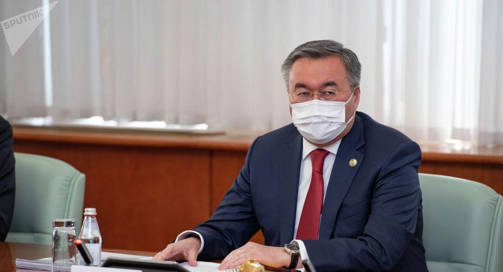 Сыртқы істер министрі Мұхтар Тілеуберді