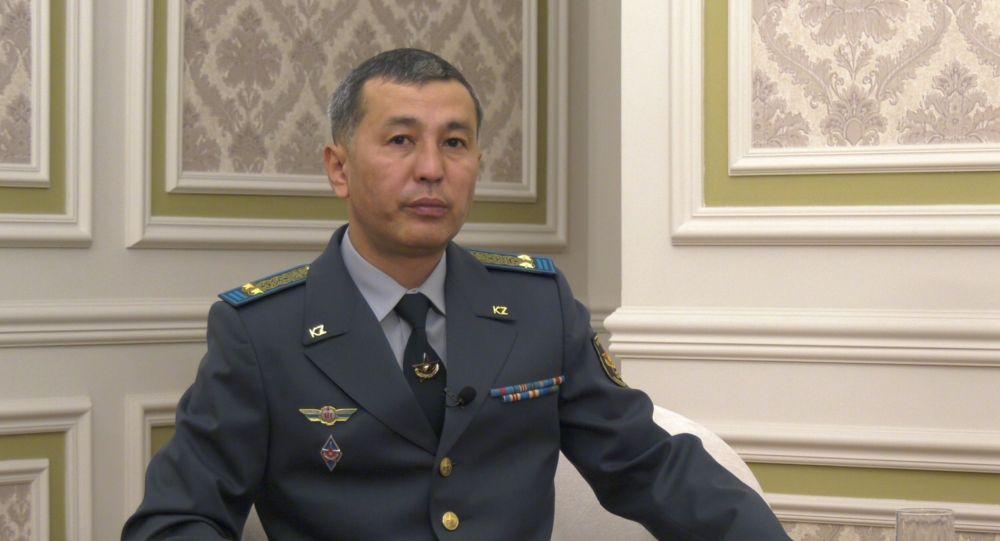 Начальник отдела департамента кадров министерства обороны подполковник Каныш Курманакынов