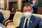 Депутат мажилиса Максат Раманкулов