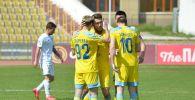 Момент матча Ордабасы - Астана