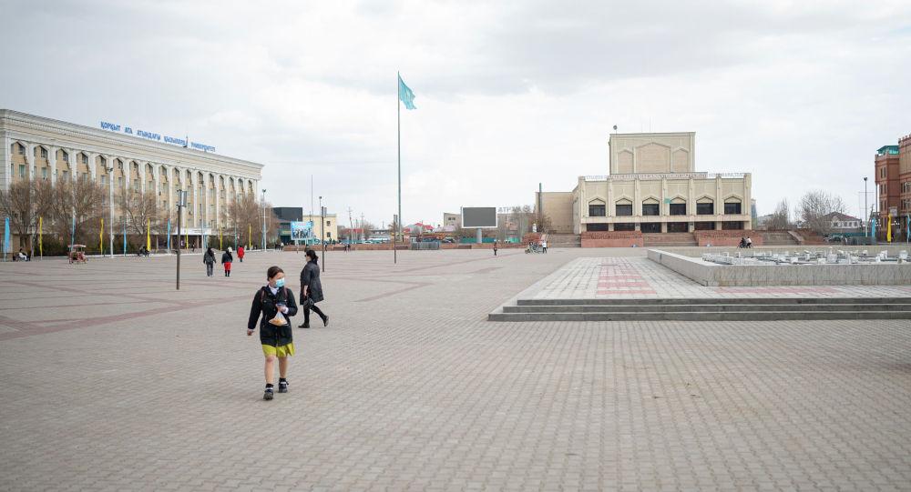 Қызылорда қаласындағы орталық алаң