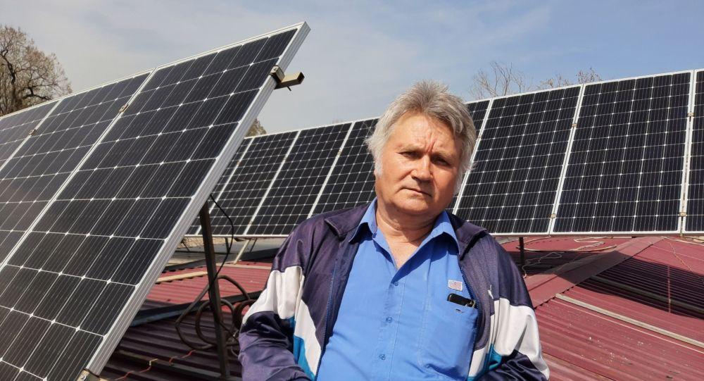 Алматинский пенсионер Валерий Шишкин