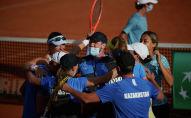 Сборная Казахстана по теннису одержала историческую победу над Аргентиной