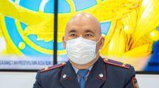 Заместитель председателя комитета административной полиции министерства внутренних дел Серик Тусупов