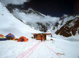 Эверест шыңындағы лагер, архивтегі сурет