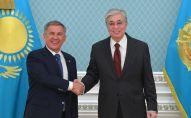 Касым-Жомарт Токаев и Рустам Минниханов