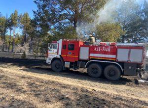 Пожар в Павлодарской области на 1200 га локализован