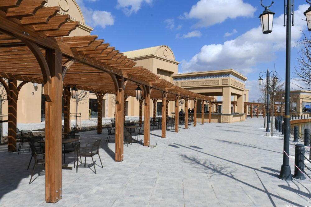 Туркестан, туристический комплекс Керуен-Сарай