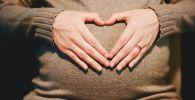 Беременность, иллюстративное фото