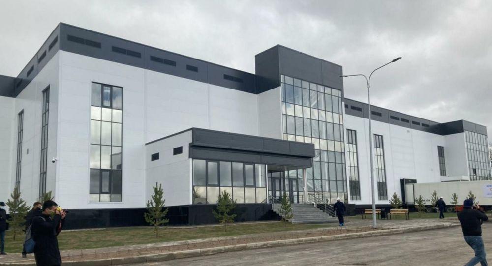 Здание биофармацевтического завода в Жамбылской области