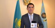 Акылбек Кыпшакбаев награжден за спасение ребенка во время пожара