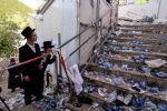 Почти 40 человек погибли при обрушении трибун на религиозном празднике в Израиле