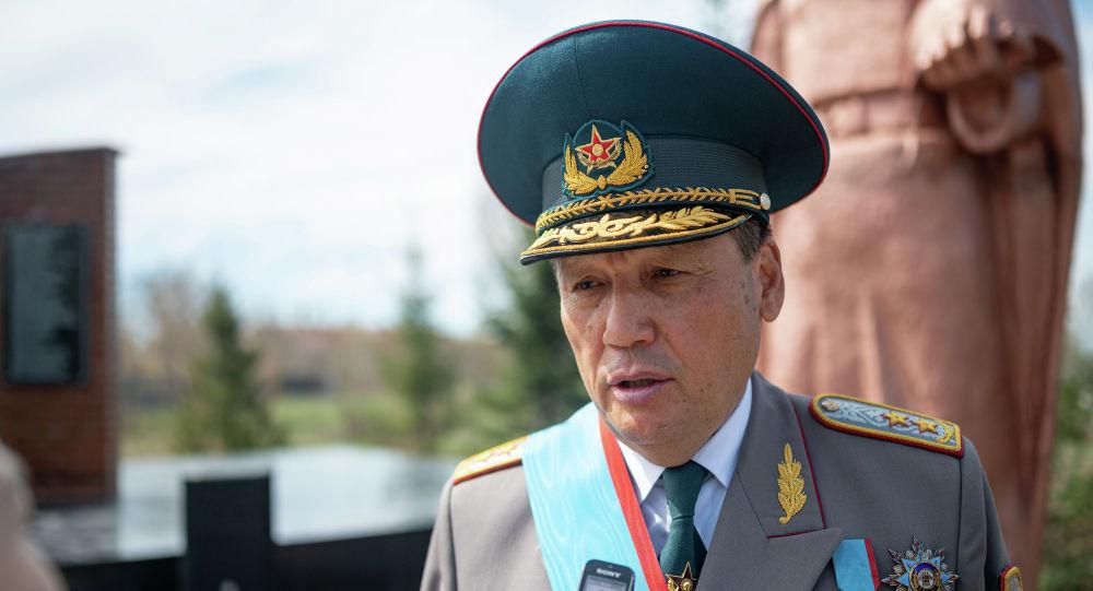 Почетный профессор Академии правоохранительных органов, генерал-лейтенант юстиции Ергали Мерзадинов