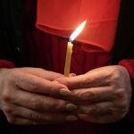 Празднование Пасхи в Никольском соборе Алматы