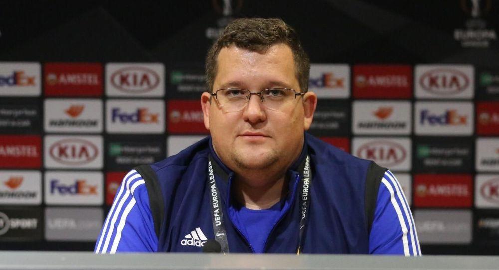 Пресс-секретарь ФК Астана Дмитрий Нестеренко