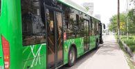 Автобус сбил девушку, перебегавшую улицу Навои