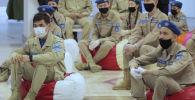 Елодада жас сарбаздар әскери-патриоттық қозғалыстың арнайы құжатын алды