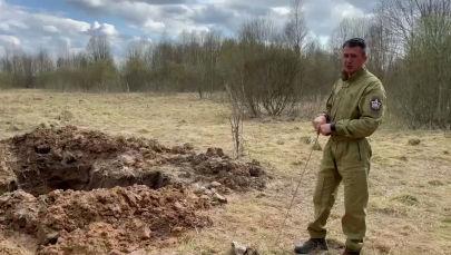 Долгий путь домой: подо Ржевом нашли останки солдат из Казахстана - видео