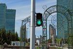Светофоры на улицах Нур-Султана