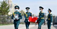 Останки казахстанского воина доставили на Родину из Молдовы
