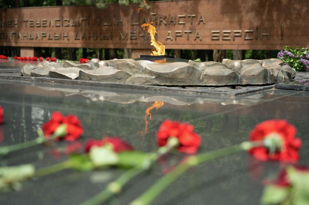 Даңқ мемориалы Ұлы Отан соғысындағы Жеңістің 30 жылдығына орай 1975 жылы 8 мамырда ашылды