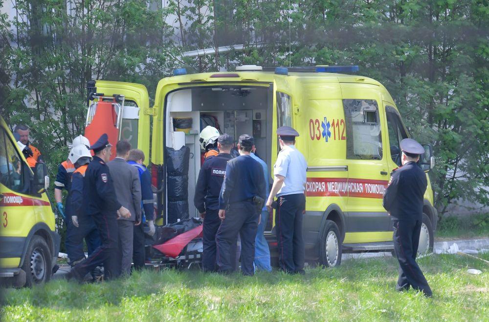 Стрельба в школе в Казани