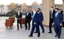 Нурсултан Назарбаев в Туркестане