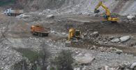 Строительство селезащитных плотин в бассейнах рек Аксай и Большая Алматинка