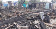 Сельчанин в СКО сжег дом знакомой после ссоры