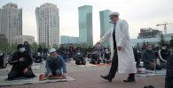 Ораза-2021: мешіттерде айт намазы далада оқылды - видео
